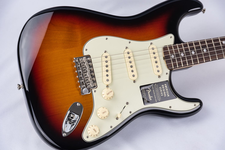 Fender American Original 60s Stratocaster Sunburst